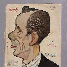 Libros antiguos: LA NOVELA TEATRAL. CINEMATOGRAFO NACIONAL. DE GUILLERMO PERRIN Y MIGUEL PALACIOS. Nº 249. AÑO 1921. Lote 68007701