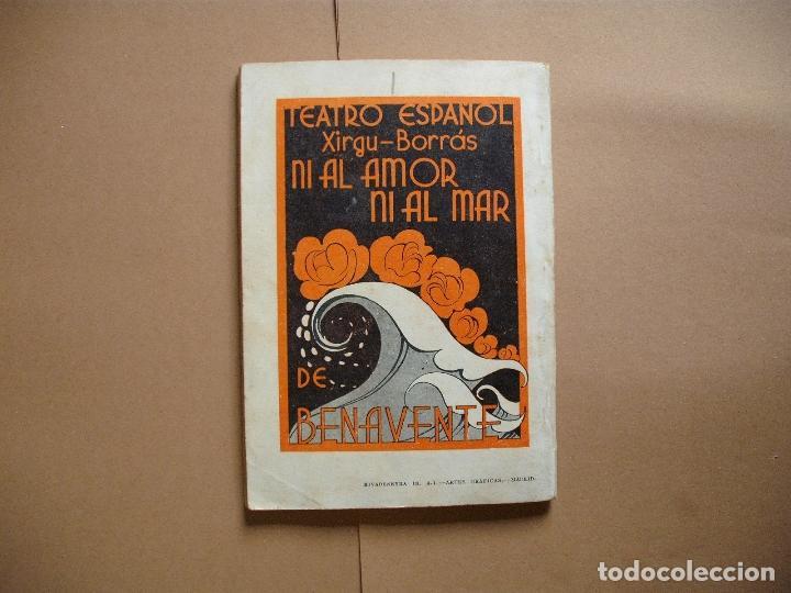 Libros antiguos: REVISTA SEMANA DE TEATRO- LA FARSA - NI AL AMOR NI AL MAR- 14-4-1934 - Nº344- EDITORIAL ESTAMPA - Foto 3 - 68088157