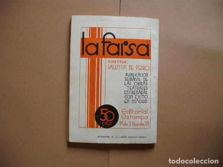 Libros antiguos: REVISTA SEMANA DE TEATRO- LA FARSA - EL CRESO DE BURGOS. 17 -2 -1934 - Nº336- EDITORIAL ESTAMPA - Foto 3 - 68181537