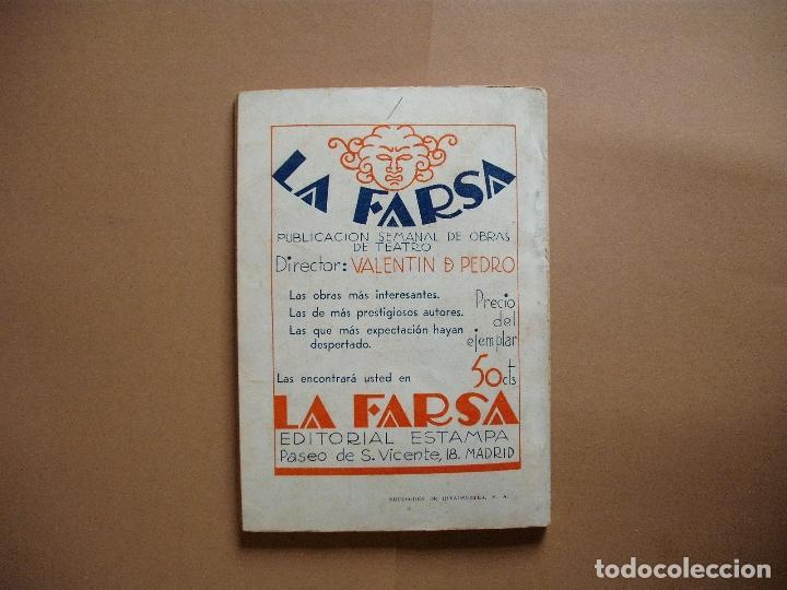 Libros antiguos: REVISTA SEMANA DE TEATRO- LA FARSA -EQUILIBRIOS - 30-12-1933- Nº329- EDITORIAL ESTAMPA - Foto 3 - 68190165