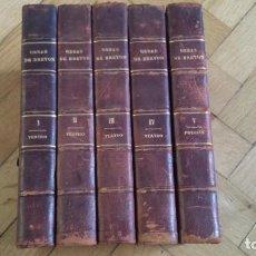 Libros antiguos: OBRAS COMPLETAS DON MANUEL BRETÓN DE LOS HERREROS (5 TOMOS) 1883-1884. Lote 68856761