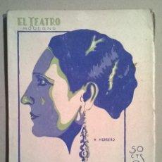 Libros antiguos: EL REY GALAOR. FRANCISCO VILLAESPESA.. Lote 68947269