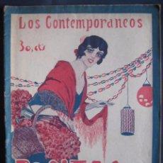Libros antiguos: CARLOS ARNICHES. ROSITAS DE OLOR. SAINETE. LOS CONTEMPORÁNEOS. Nº 889. Lote 186081083