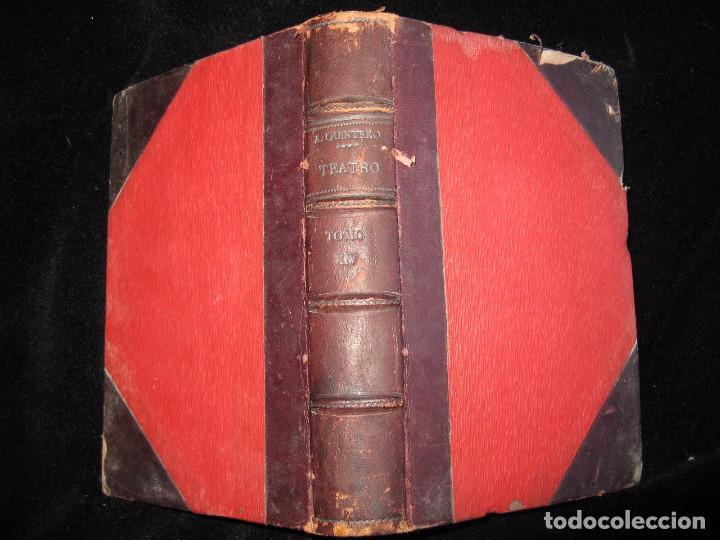 TEATRO COMPLETO. TOMO XIV. COMEDIAS Y DRAMAS. ALVAREZ QUINTERO, S. Y J. A-QUINTERO (Libros antiguos (hasta 1936), raros y curiosos - Literatura - Teatro)