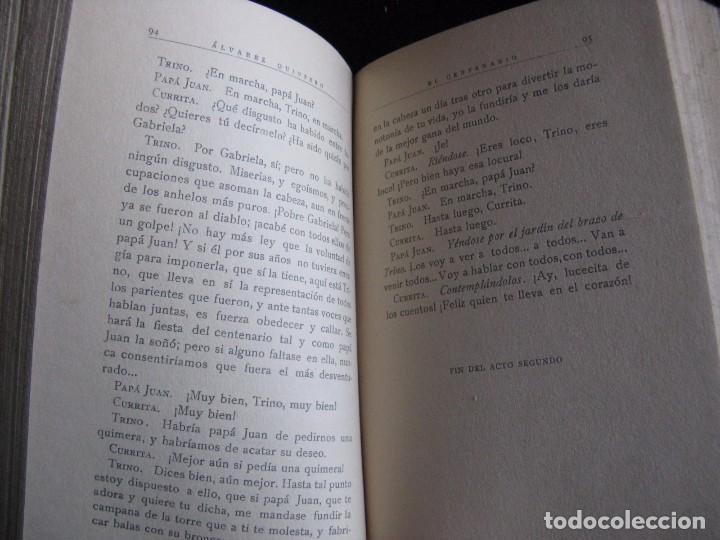 Libros antiguos: TEATRO COMPLETO. TOMO XIV. COMEDIAS Y DRAMAS. ALVAREZ QUINTERO, S. Y J. A-QUINTERO - Foto 6 - 73516355