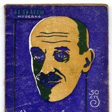 Libros antiguos: MARTINEZ SIERRA, GREGORIO. LOS PASTORES. 1928.. Lote 74948423