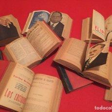 Libros antiguos: LA NOVELA TEATRAL 11 TOMOS ENCUADERNADOS EN PIEL. MAYO 1918 A JULIO 1924. Lote 75065326