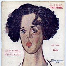 Alte Bücher - MUÑOZ SECA, Pedro. La barba de Carrillo. 1919. - 75286159