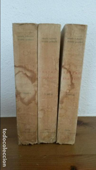 Libros antiguos: TEATRO COMPLETO. TOMOS I, II Y III. SERAFIN Y JOAQUIN ALVAREZ QUINTERO. MADRID 1923. - Foto 4 - 75674759