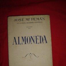 Libros antiguos: JOSÉ M. PEMÁN ALMONEDA AÑO 1936. Lote 76917247