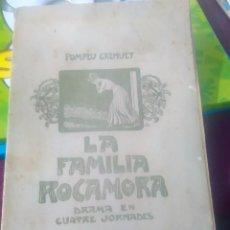 Alte Bücher - LA FAMILIA ROCAMORA POMPEU CREHUET - 78108177