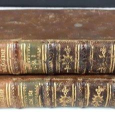 Libros antiguos: OUVRES DE J. RACINE. TOMOS I Y III. (VER DESCRIPCIÓN). IMP. FAUCHEUX. 1781.. Lote 78574785