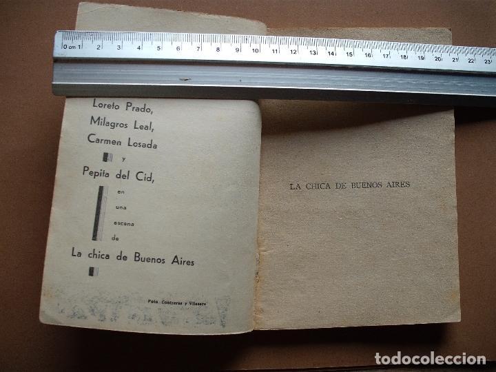 Libros antiguos: LA FARSA- LA CHICA DE BUENOS AIRES- Nº 323,REVISTA SEMANAL DE TEATRO- 1933 - Foto 2 - 78767825