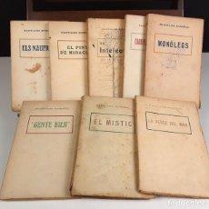 Libros antiguos: SANTIAGO RUSIÑOL. 8 VOLÚMENES. (VER DESCRIPCIÓN). EDIT. ANTONI LÓPEZ. S/F.. Lote 80202685