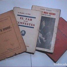 Libros antiguos: LOTE DE 4 LIBRETOS DE TEATRO.EN CATALÁN.1910,1930,1932,1935.. Lote 82284980