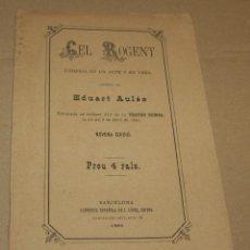 Libros antiguos: CEL ROGENT - EDUART AULÉS - 1885 - NOVENA EDICIÓ. Lote 83555404