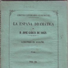 Libros antiguos: GOMEZ DE BEDOYA, FERNANDO: GERONIMO EL ALBAÑIL. 1864. Lote 85859436