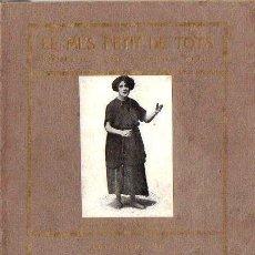 Libros antiguos: JOSEP Mª FOLCH I TORRES : EL MÉS PETIT DE TOTS (BAGUÑÁ, 1922) EN CATALÁN. Lote 85873472