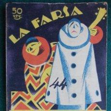 Libros antiguos: COLECCIÓN DE OBRAS DE TEATRO LA FARSA Nº 44 LA CAPITANA. Lote 86617852