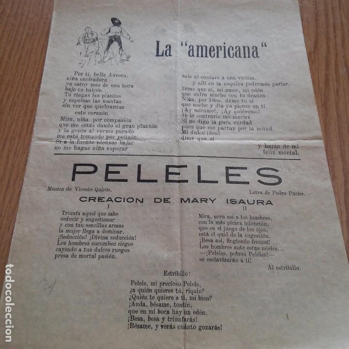 Cancionaro Letras Canciones La Americana Kaufen Alte Theater