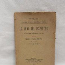 Libros antiguos: EL TEATRO, LA BODA DEL INSPECTOR, DE EDUARDO NAVARRO GONZALVO, MADRID 1892. Lote 87467228