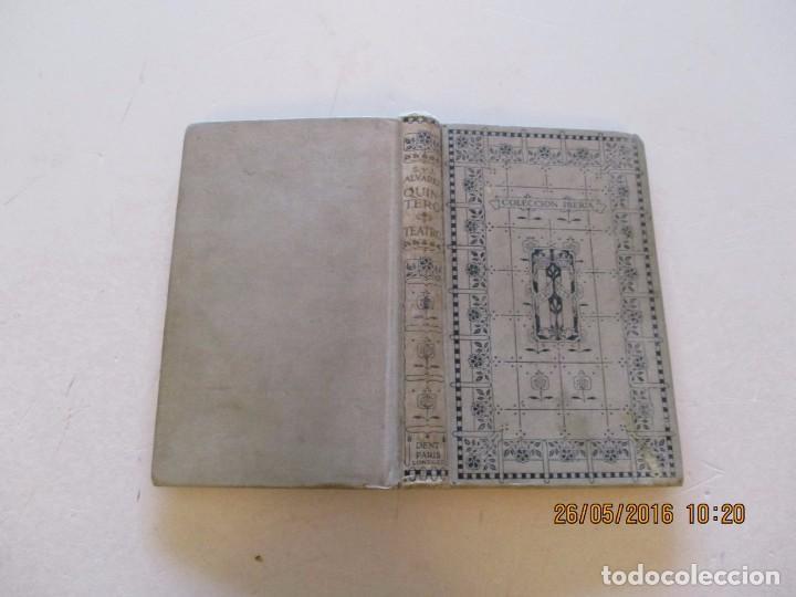 S. Y J. ÁLVAREZ QUINTERO. TEATRO. RMT81031. (Libros antiguos (hasta 1936), raros y curiosos - Literatura - Teatro)
