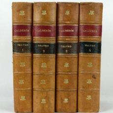 Libros antiguos: TEATRO DE CALDERÓN DE LA BARCA-GARCÍA RAMON-ED.GARNIER HERMANOS, PARIS. TOMOS 1-4.. Lote 89433712