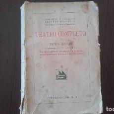 Libros antiguos: TEATRO COMPLETO HMNOS. ALVAREZ QUINTERO TOMO XXXIII. 1941. Lote 89724184