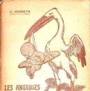 Libros antiguos: J. MORATÓ : LES ANGUNIES DEL REPÓS (BAXARIAS, 1909) ILUSTRACIÓN DE JUNCEDA - TEATRE CATALÀ. Lote 90074108