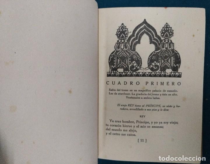 Libros antiguos: EL PAVO REAL. MARQUINA EDITORIAL REUS 1922. COMEDIA POETICA EN TRES ACTOS. TAPA DURA - Foto 4 - 90316076