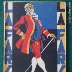 Libros antiguos: COLECCIÓN DE TEATRO LA FARSA Nº 66 RAQUEL -HONORIO MAURA. Lote 90957175