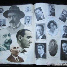 Libros antiguos: 1584 IMÁGENES. COLECCIÓN DE ARTISTAS DE TEATRO, ZARZUELA, POETAS, MÚSICOS, ETC DEL AÑO 1893 AL 1934.. Lote 90972055