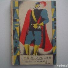 Libros antiguos: LIBRERIA GHOTICA. LA FARSA. SEVILLA Y CARREÑO. LOS CLAVELES. 1929. ILUSTRADO. TEATRO. Nº85. Lote 91568475