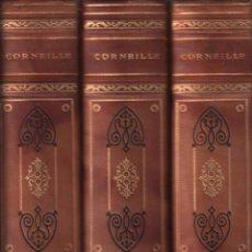 Libros antiguos: THEATRE COMPLET DE CORNEILLE - MAURICE RAT / MUNDI-2277 . BUEN ESTADO . 3 TOMOS. Lote 91660910