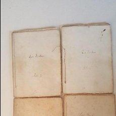Libros antiguos: LOS YANKEES - COMEDIA EN 4 ACTOS - VICTORIEN SARDOU -1876 (L'ONCLE SAM). Lote 92255170