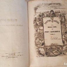 Libros antiguos: TEATRO SOCIAL DEL SIGLO XIX. TOMO I- 1846. (FRAY GERUNDIO). Lote 92258625