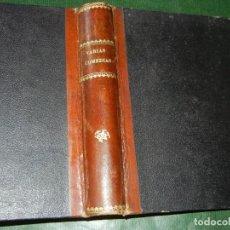 Libros antiguos: VOLUMEN VARIES OBRES TEATRE FERRER Y CODINA, BARO, PITARRA, CARNER, MOLAS -VER DESCR. 1896. Lote 93238260