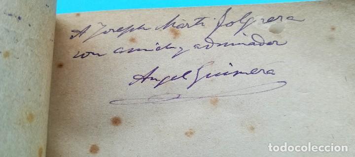 Libros antiguos: 2 LIBRO CON FIRMA-AUTOGRAFO DEL ESCRITOR ANGEL GUIMERA,AUTOR MAR I CEL,LITERATURA CATALANA,TEATRO - Foto 3 - 94522810