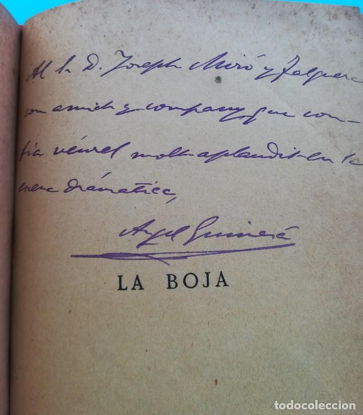 Libros antiguos: 2 LIBRO CON FIRMA-AUTOGRAFO DEL ESCRITOR ANGEL GUIMERA,AUTOR MAR I CEL,LITERATURA CATALANA,TEATRO - Foto 5 - 94522810