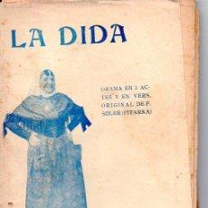 Alte Bücher - FREDERICH SOLER PITARRA : LA DIDA (BONAVIA, 1912) TEATRE CATALÀ - 95288567