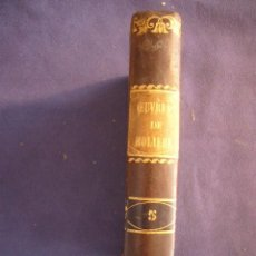 Libros antiguos: MOLIERE: - OEUVRES. NOUVELLE EDITION. - (VOLUMEN V) (PARIS, 1785). Lote 95621235