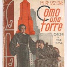 Libros antiguos: LA FARSA. Nº 284. EVA QUINTANAS. MANUEL LINARES RIVAS. MADRID 1933. (P/D19). Lote 95954755