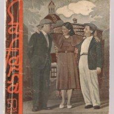 Libros antiguos: LA FARSA. Nº 292. ROMANCE DE FIERAS. MANUEL LINARES RIVAS. MADRID 1933. (P/D19). Lote 95956755
