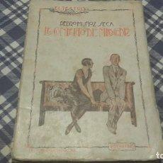 Libros antiguos: EL CONFLICTO DE MERCEDES MUÑOZ SECA EL TEATRO MODERNO. Lote 97247731