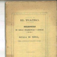 Libros antiguos: BATALLA DE NINFAS. ENRIQUE ZUMEL. Lote 98796335