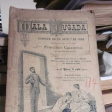 Libros antiguos: CASANOVAS, FRANCISCO: MALA JUGADA. Lote 100339807