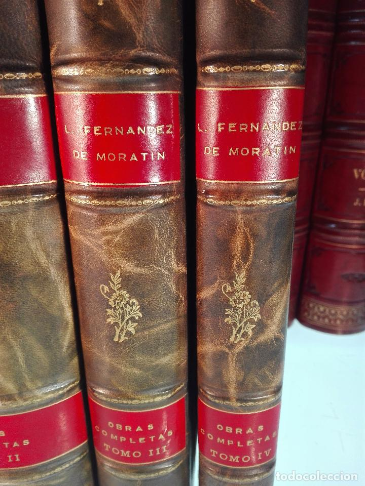 Libros antiguos: ORÍGENES DEL TEATRO ESPAÑOL - 4 TOMOS - LEANDRO FERNANDEZ DE MORATÍN - AGUADO - MADRID - 1830 - - Foto 3 - 100483931