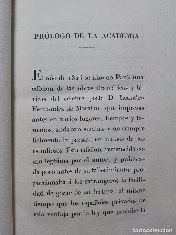 Libros antiguos: ORÍGENES DEL TEATRO ESPAÑOL - 4 TOMOS - LEANDRO FERNANDEZ DE MORATÍN - AGUADO - MADRID - 1830 - - Foto 7 - 100483931