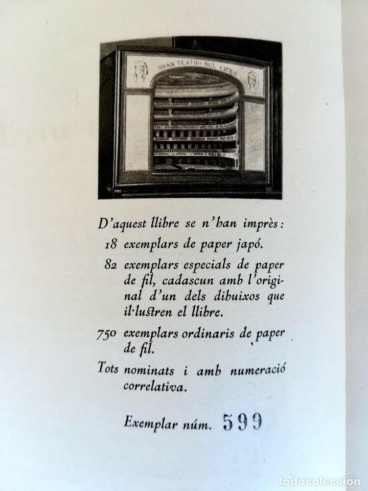 Libros antiguos: LIBRO EL GRAN TEATRO DEL LICEO DE BARCELONA 1837-1930,MEDALLA EMPERADOR NAPOLEON BONAPARTE,PERGAMINO - Foto 9 - 101207151