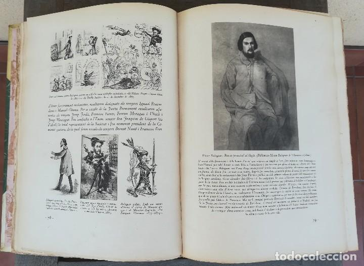 Libros antiguos: LIBRO EL GRAN TEATRO DEL LICEO DE BARCELONA 1837-1930,MEDALLA EMPERADOR NAPOLEON BONAPARTE,PERGAMINO - Foto 11 - 101207151
